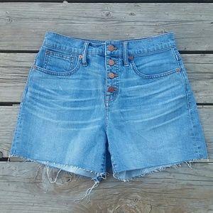 Madewell Cutoff Shorts Sz 26